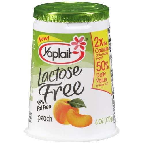Yoplait Lactose Free Peach Yogurt 170g Grocery Shopping