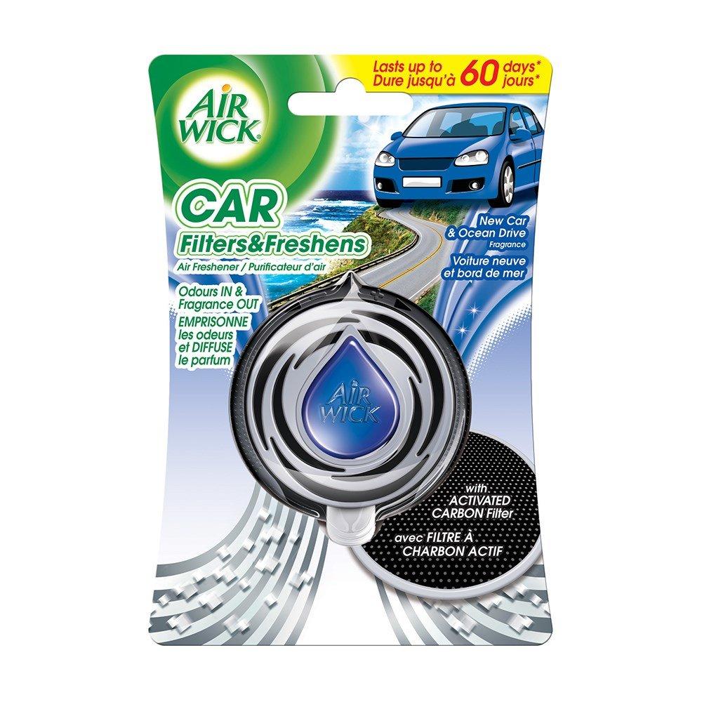 AIRWICK CAR AIR FRESHNER NC&OCEAN DRIVE 3ML