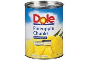 cannedpineappleinheavysyrup