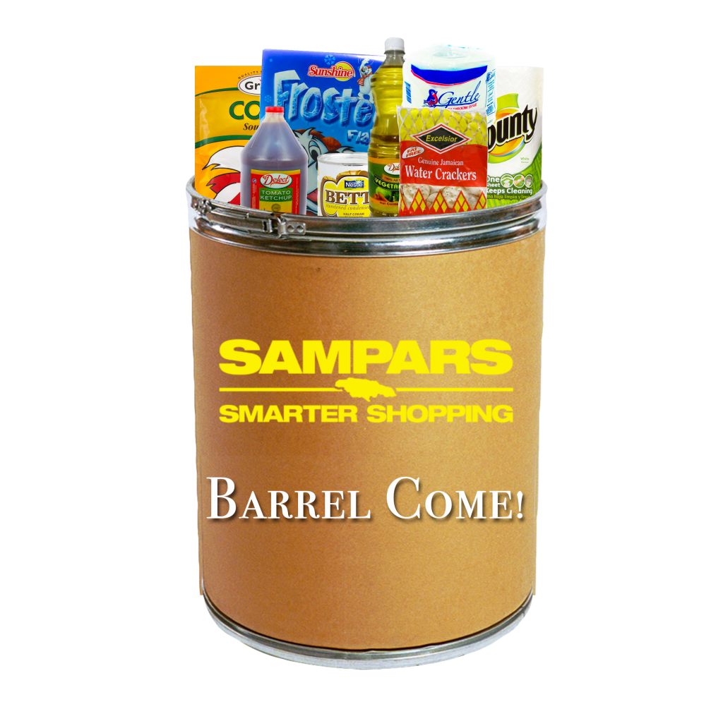 Barrel Come Packed Barrel - Grocery Shopping Online Jamaica